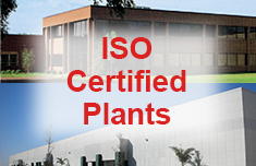 ISO Certified Plants