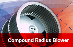 Compound Radius Blower Wheel